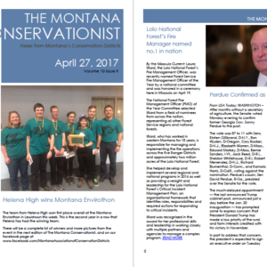 The Montana Conservationist April 27