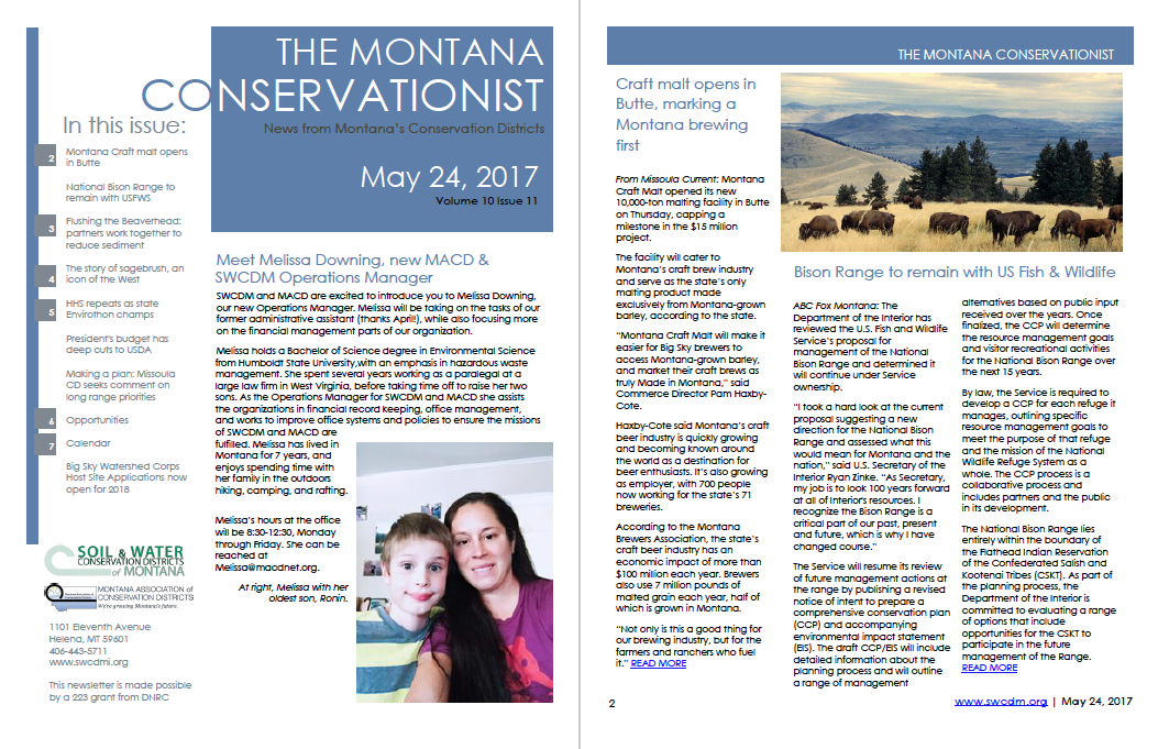 The Montana Conservationist, May 24