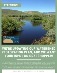 Grasshopper Watershed Planning Meeting @ Grasshopper Inn | Polaris | Montana | United States