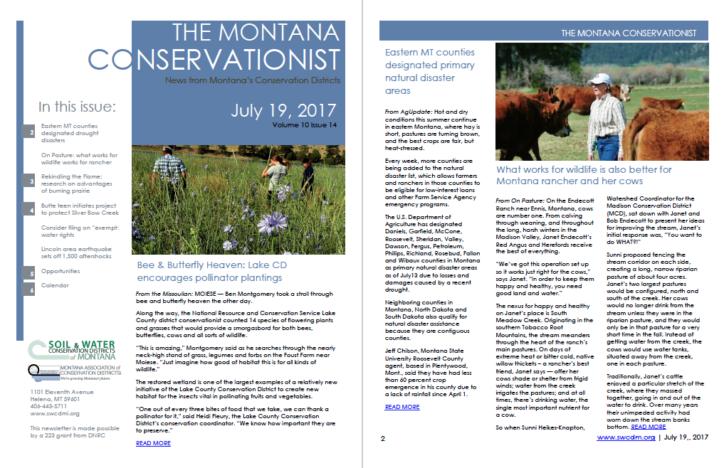 The Montana Conservationist July 19