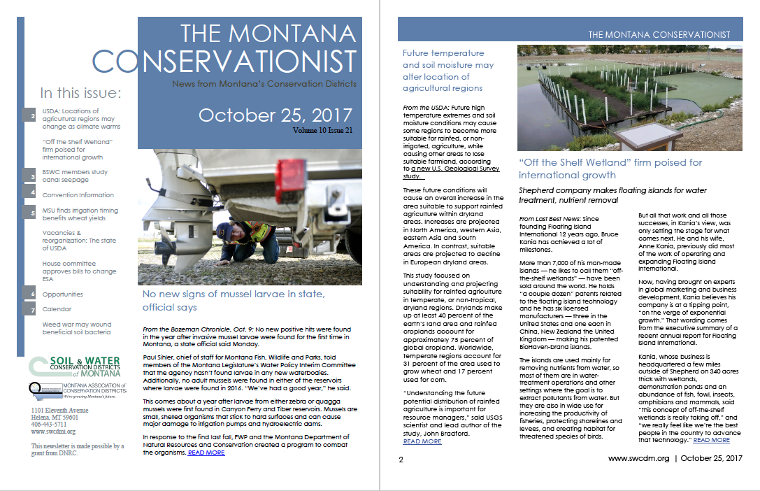 The Montana Conservationist, October 25