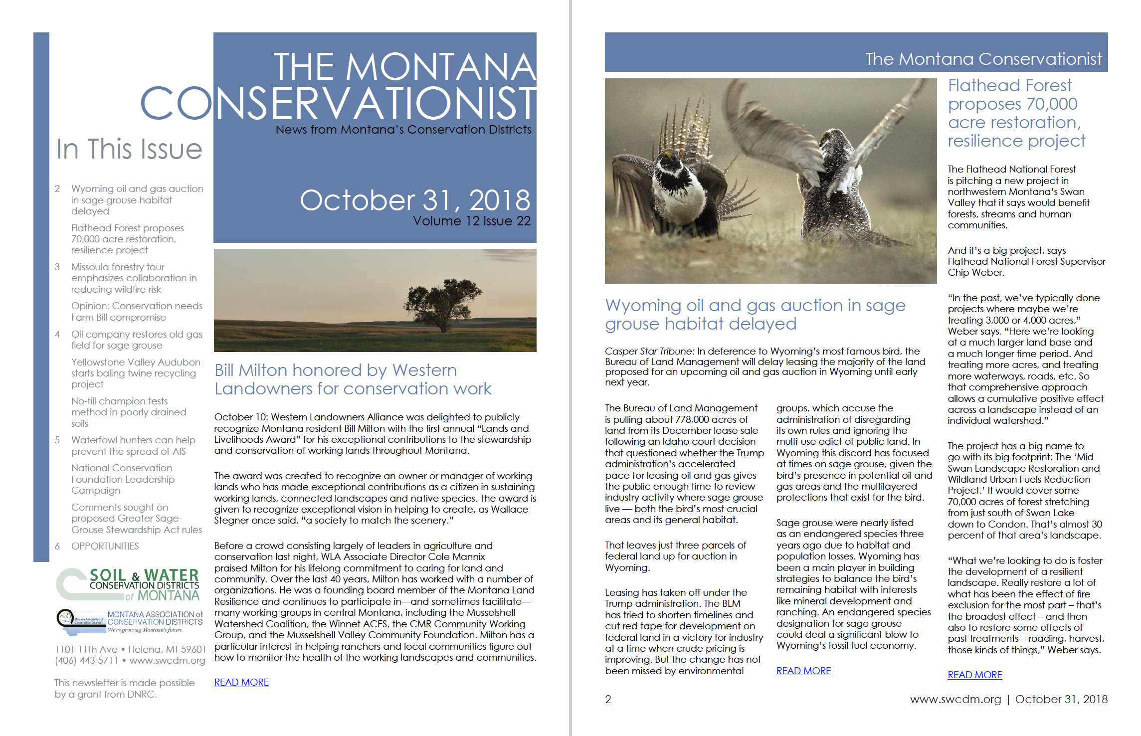 The Montana Conservationist – Page 2 – Beaverhead